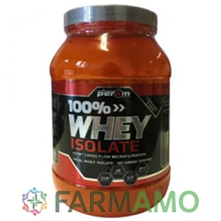 whey isolate per4m proteine